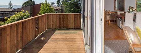 houten veranda op maat