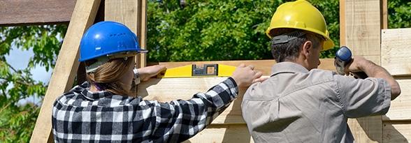 zelf houten gevelbekleding plaatsen
